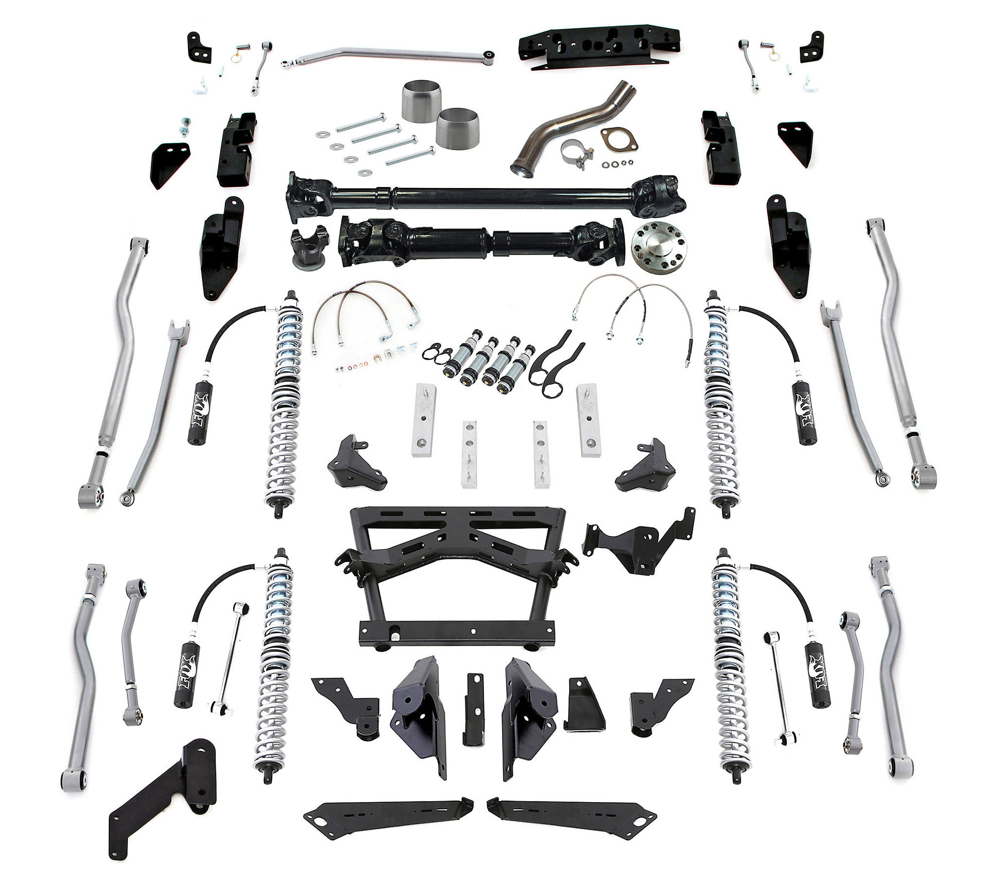 Rubicon Express Extreme Duty 4 Link Long Arm Kits For 12
