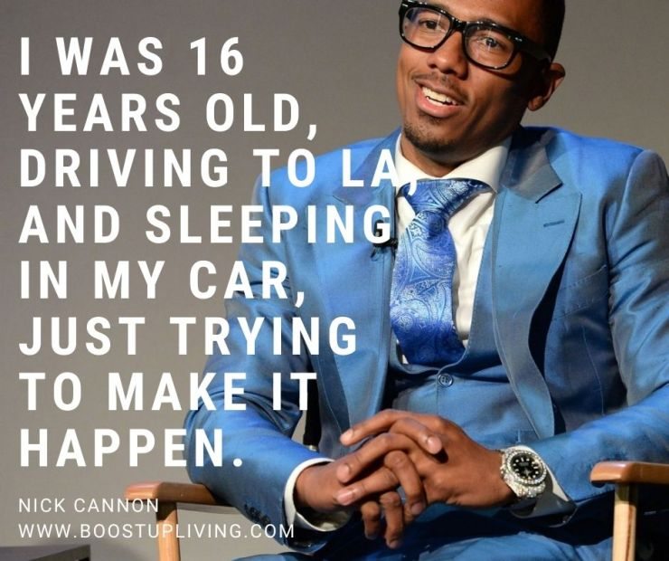 Nick Cannon's Best Motivation Quotes For Your Success. -Nick Cannon's Best Motivation Quotes For Your Success.
