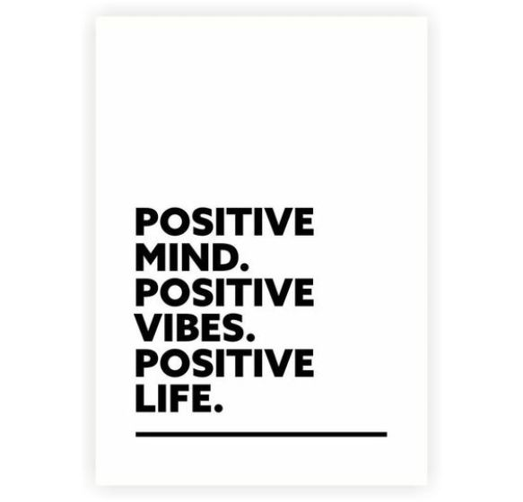Positive mind. positive life. - Short Motivational Quotes