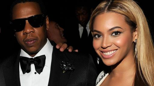 Jay Z with His World Famous Wife Beyonce