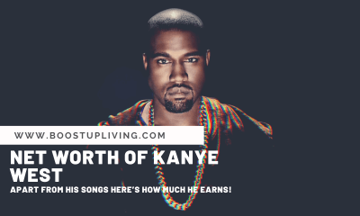 Net Worth Of Kanye West_ Apart From His Songs Here's How Much He Earns!