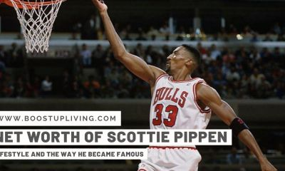 The Net Worth Of Scottie Pippen- Lifestyle And The Way He Became Famous