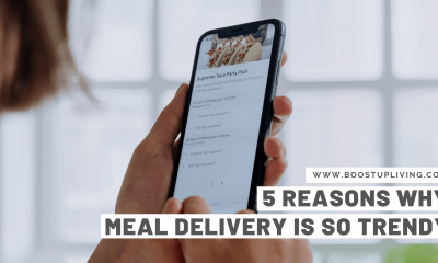 5 Reasons Why Meal Delivery Is So Trendy