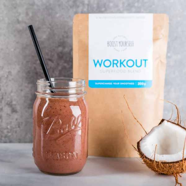 Post-workout smoothie recipe for recovery