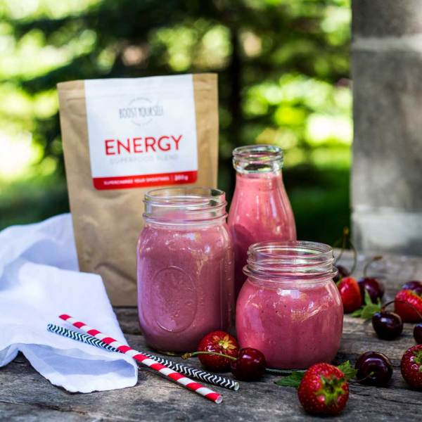 Energy rich foods and smoothies