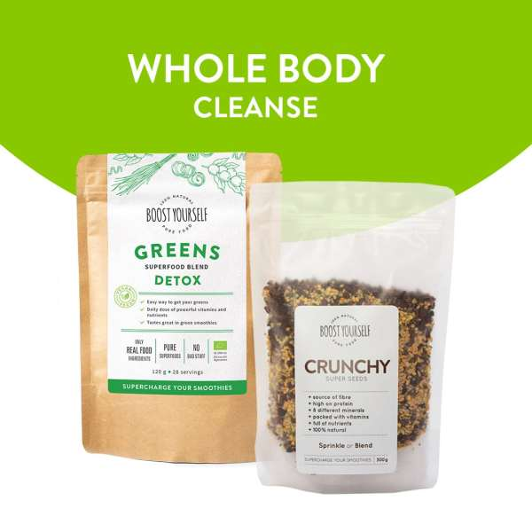 Boost Yourself Whole Body Cleanse Superfood Combo for Smoothies