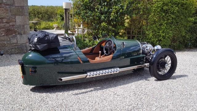 Morgan 3 Wheeler Luggage Rack Boot Bag Fits The 3