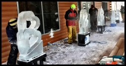 Basic Training Ice Carving Class students