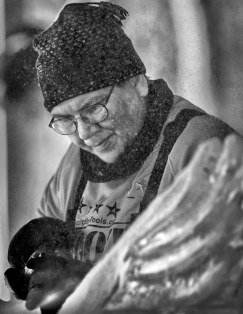 ICE CARVER B and W