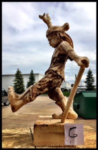 Jester Wood Carving Class Boot Camp Sculpture