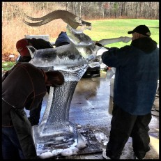 Advanced Ice Carving Class