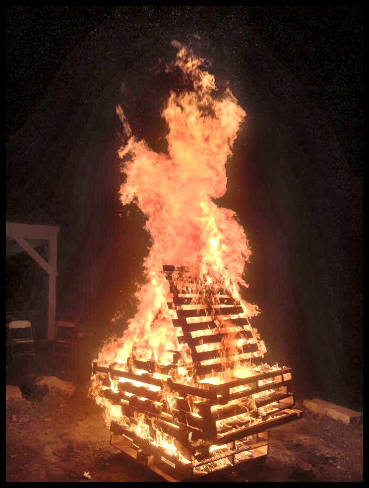 Boot Camp Bon Fire