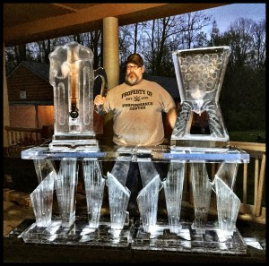 CNC Ice Bar, Beer Dispenser, and luge
