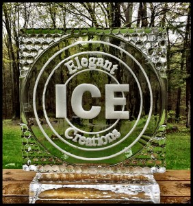 CNC Ice Sculpture