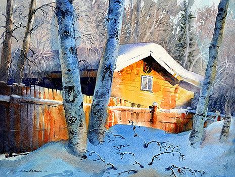 house of light by Vladimir Zhikhartsev