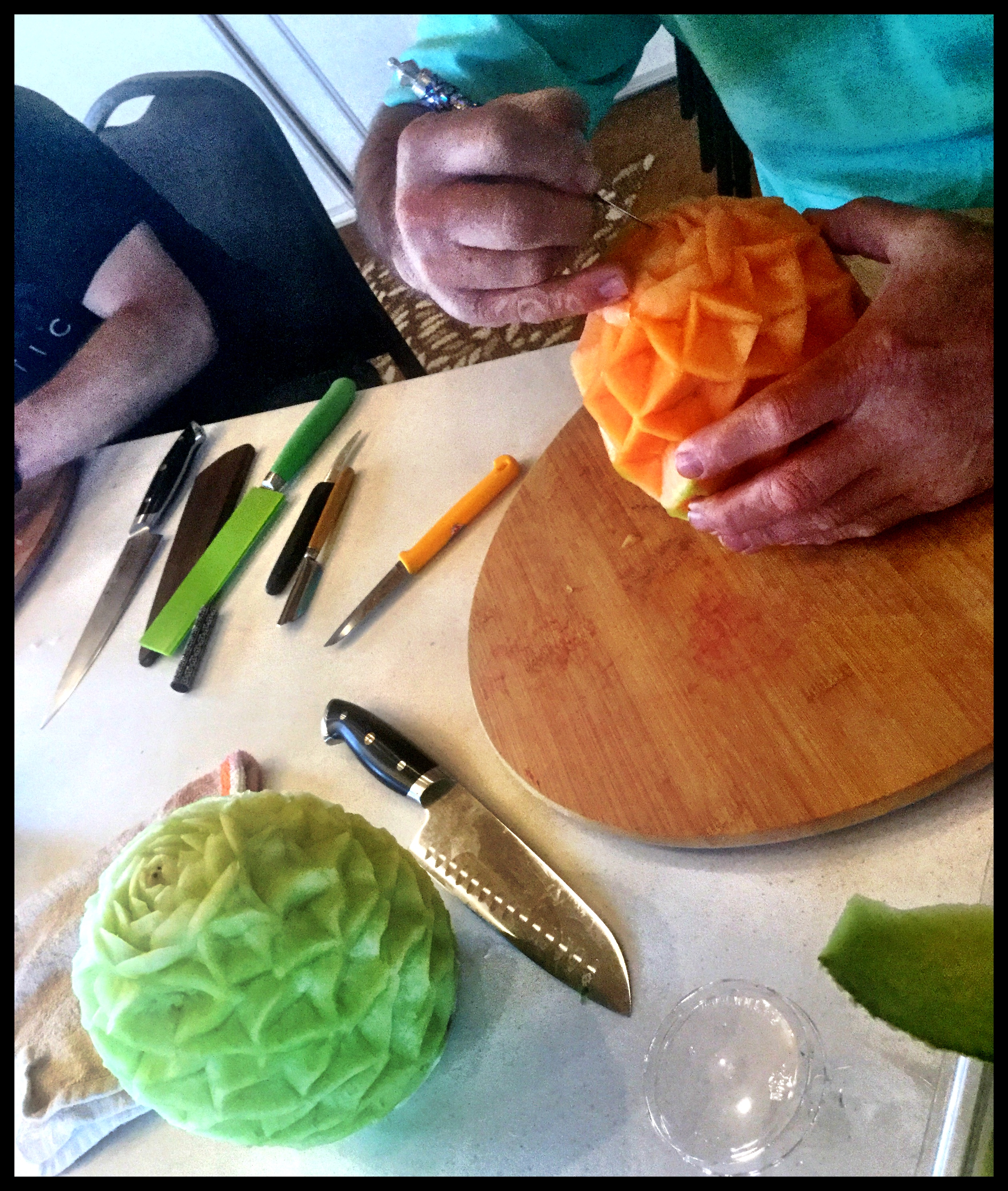 Vegetable Carving Class