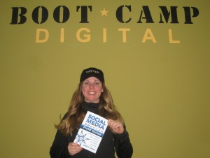 Social media field guide and author Krista Neher
