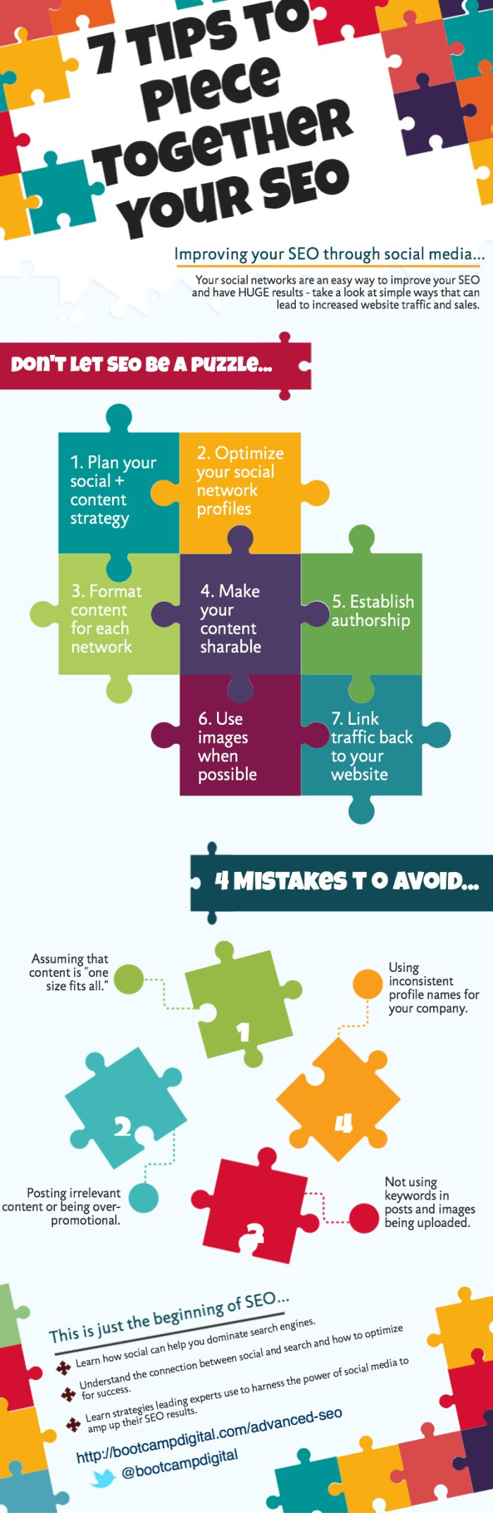7 tips for SEO