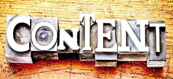 Content Blog Header