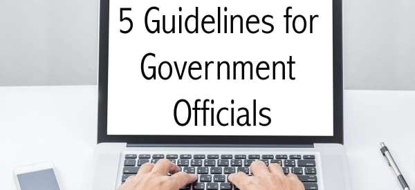 5 Guidelines Blog Post header