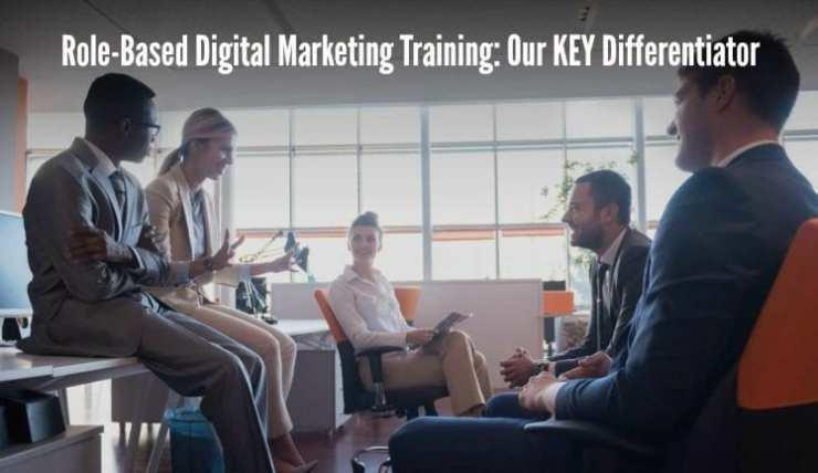 role-based digital marketing training, role-based social media training, digital marketing training, social media training, corporate training