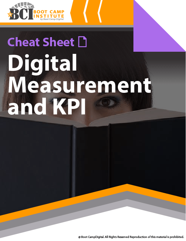 Cheat Sheet Digital Measurement and KPI