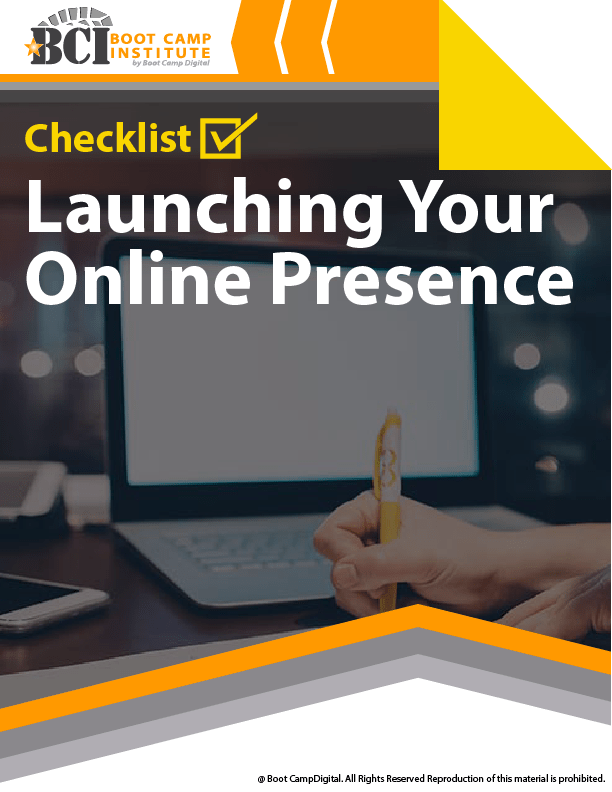 Checklist Launching Your Online Presence