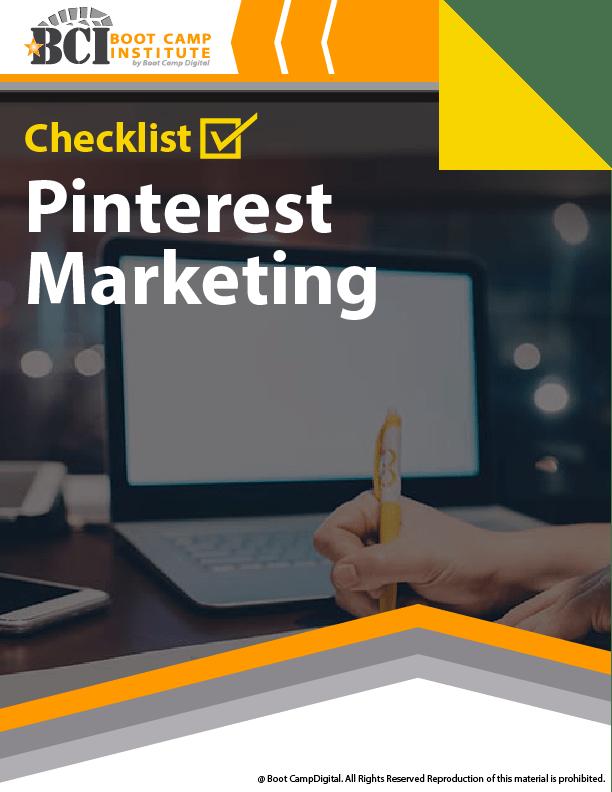 Checklist Pinterest Marketing