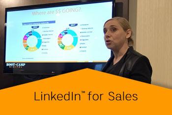 LinkedIn for Sales speaker