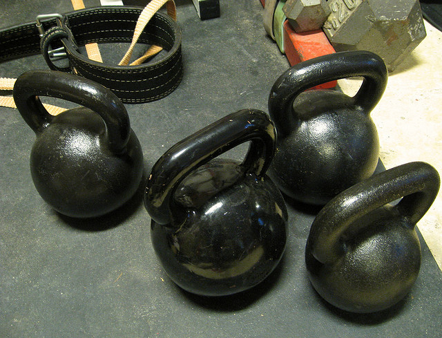 Kettlebell Drop 10 Bootcamp Workout
