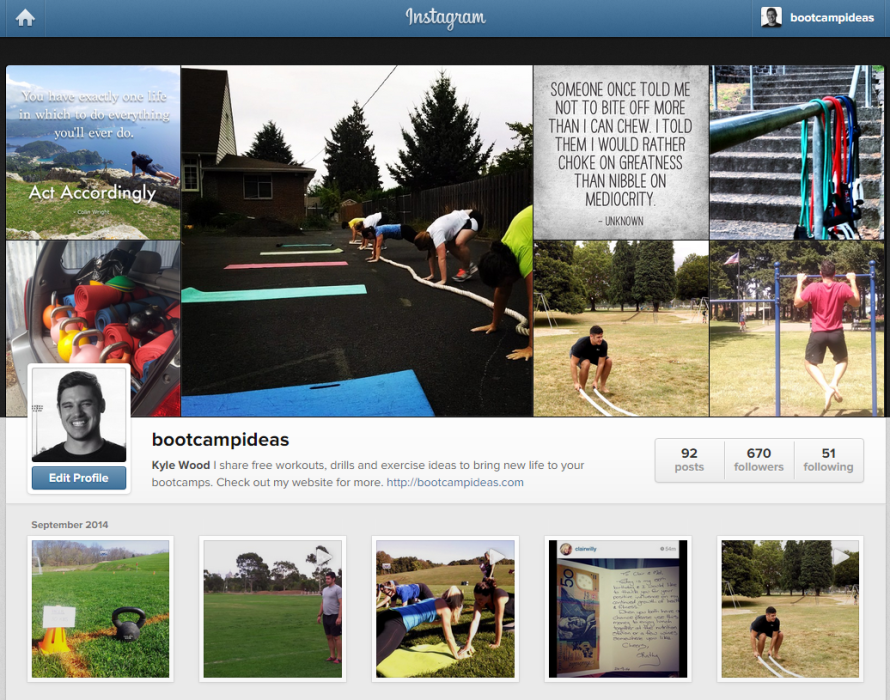 My 8 Favourite Bootcamp Instagram Accounts