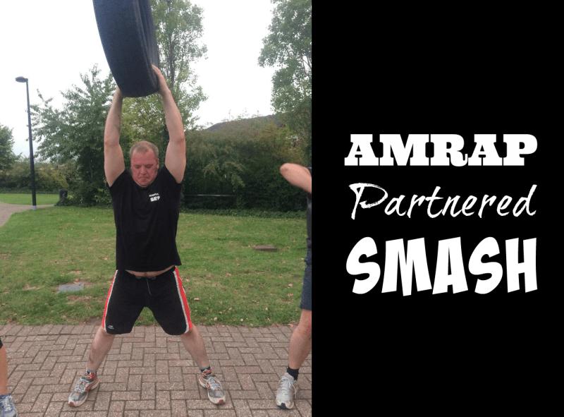 amrap partnered smash