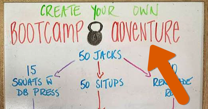 Create Your Own Bootcamp Adventure