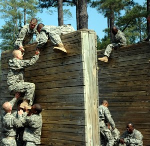 Obstacle Course, 12ft Wall
