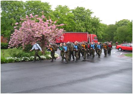 Training, Marching