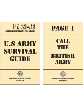 US Army Survival Guide...