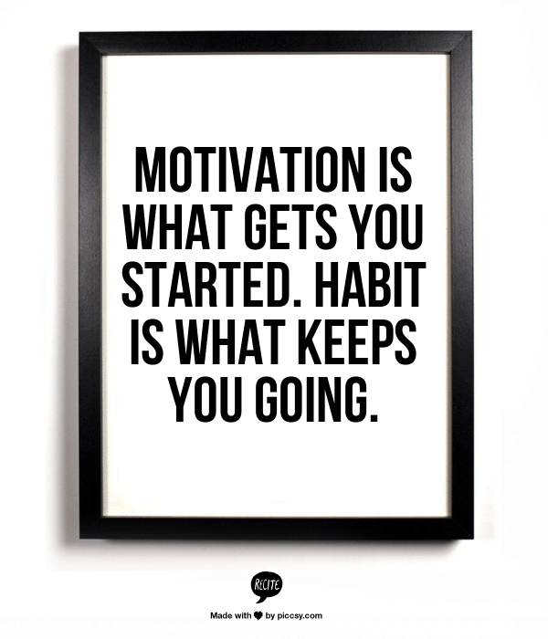 Motivation is...