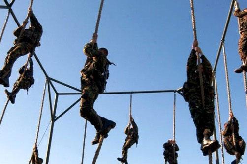 RM, 30ft Rope Climb