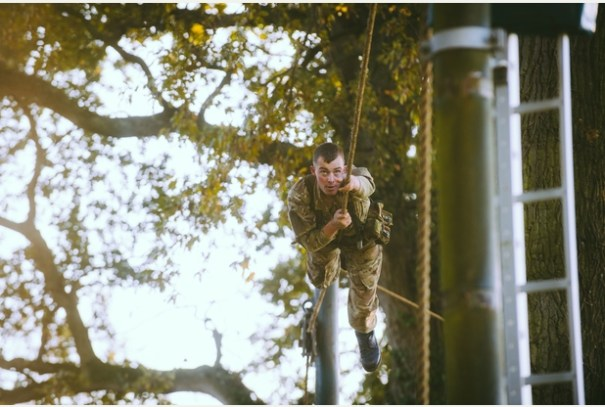 RM, Tarzan Assault Course 4