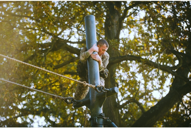 RM, Tarzan Assault Course 5