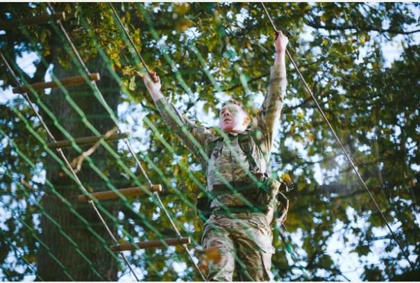 RM, Tarzan Assault Course 6c