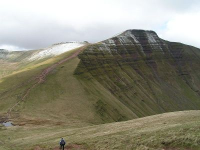 Special Forces, SAS, Pen y Fan from Cribyn
