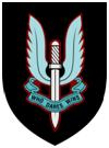 Cap badge, SAS