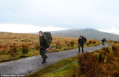 Training, Brecons Beacons
