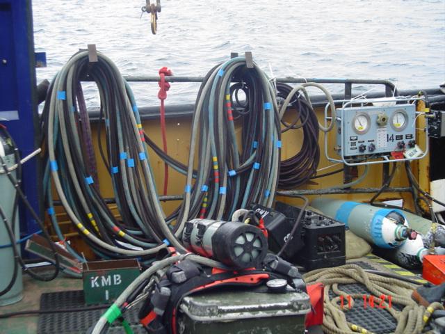 Diver Station 1, Deep Diving Phase