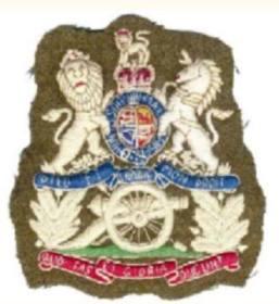 WO1 (RASM) Badge of Rank