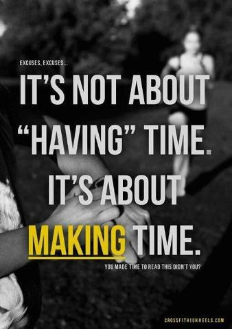 Time: Having vs Making