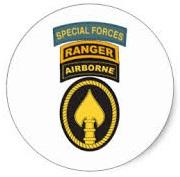 US Army SF Tabs