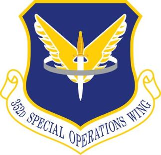 Logo, USAF, AFSOC, 352nd Special Operations Wing