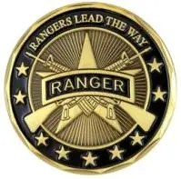 US Army Ranger, Medallion (1)